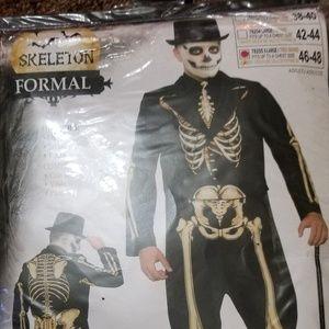 536fd9cf4e75 Other | Skeleton Formal Mens Costume | Poshmark